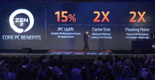 AMD Ryzen Zen 2 IPC Uplift
