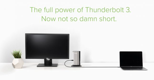 Thunderbolt 3 Cable Not So Short