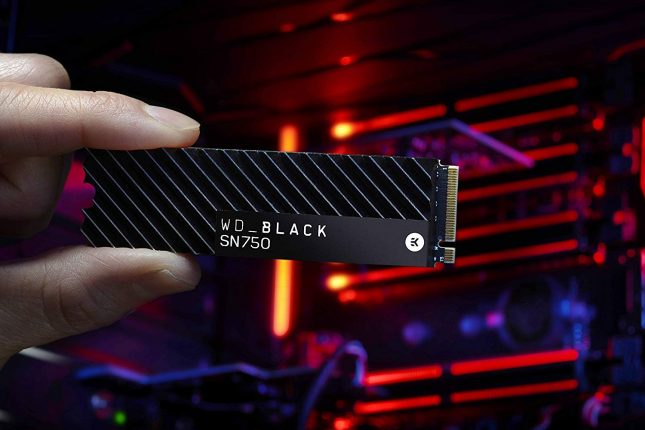 WD Black SN750 with EKWB Heatsink