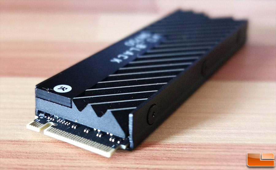 WD Black SN750 NVMe SSD with EKWB Heatsink Review - Legit