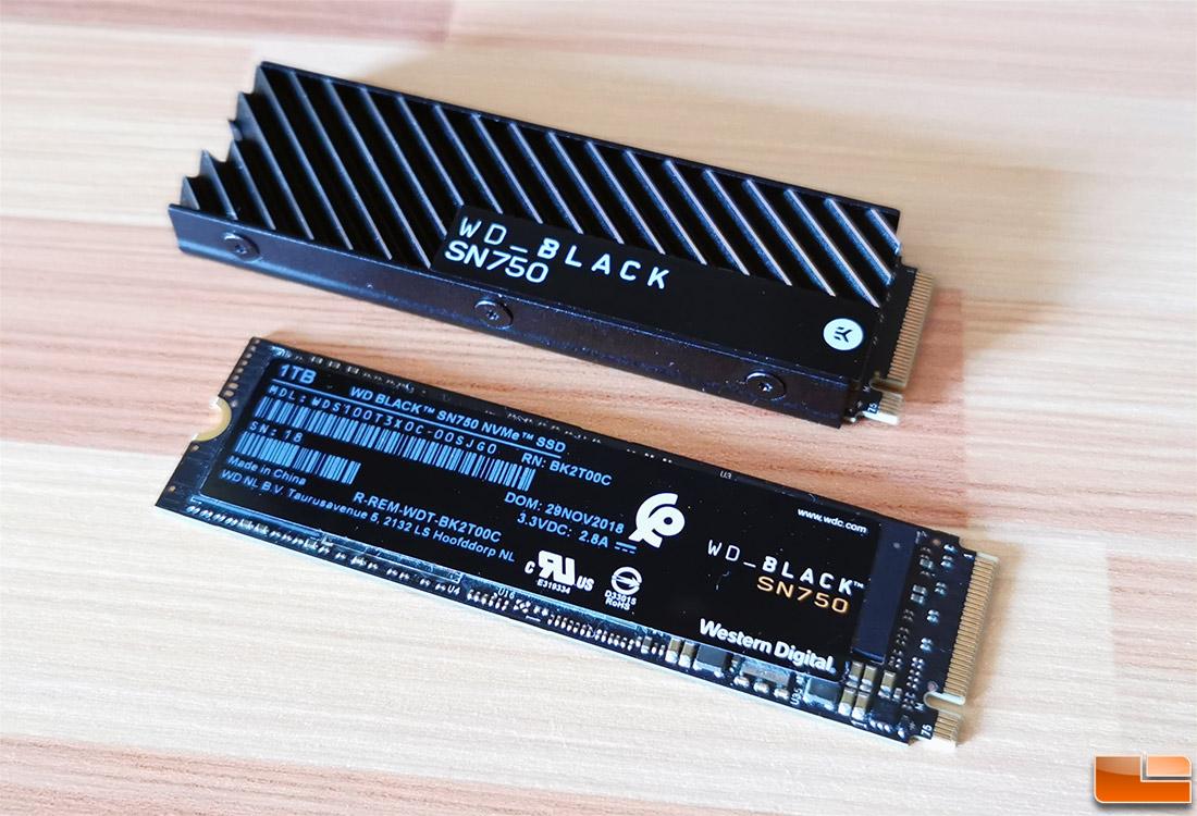 wd black sn750 heatsink - 5 Rekomendasi SSD Gaming di 2020, Performa Maksimal