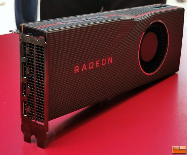 AMD Radeon RX 5700 XT Angle