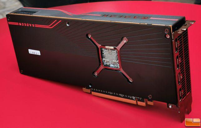 AMD Radeon RX 5700 XT Back