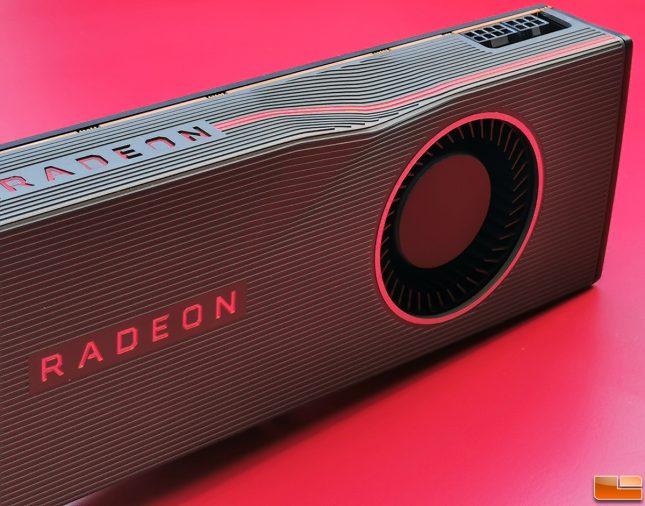 AMD Radeon RX 5700 XT Fan and Power Connectors