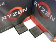 AMD Ryzen 9 3900X and Ryzen 7 3700X