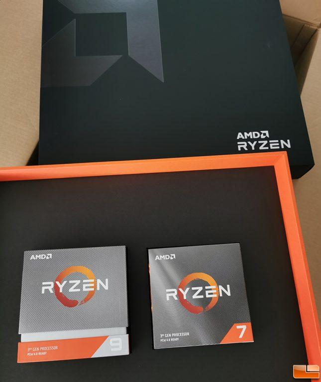 AMD Ryzen 3rd Gen CPUs