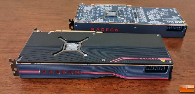 Radeon 5700 XT and Radeon 5700 Backplate