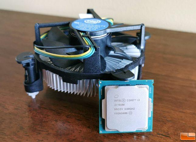 Intel Core i3 9100 HSF