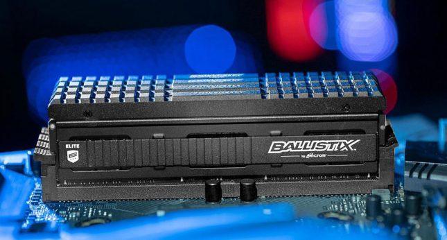 Ballistix Elite 16GB Kit (8GBx2) DDR4 4000