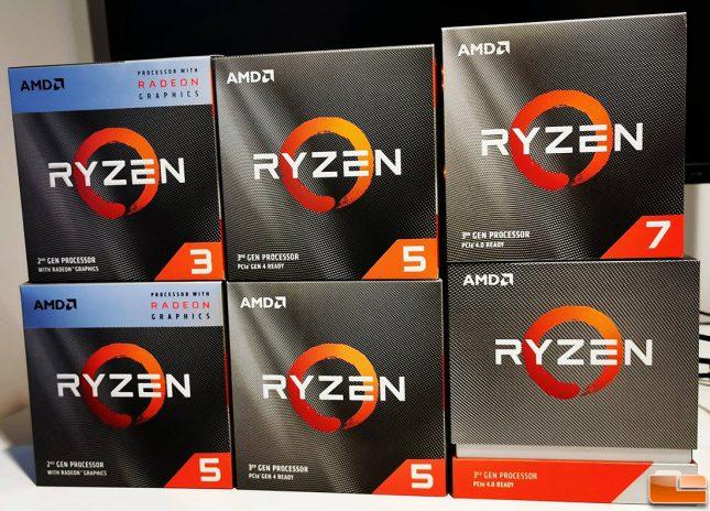 AMD Ryzen 3000 Series Processors
