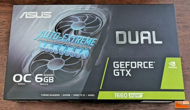 ASUS GeForce GTX 1660 SUPER DUAL