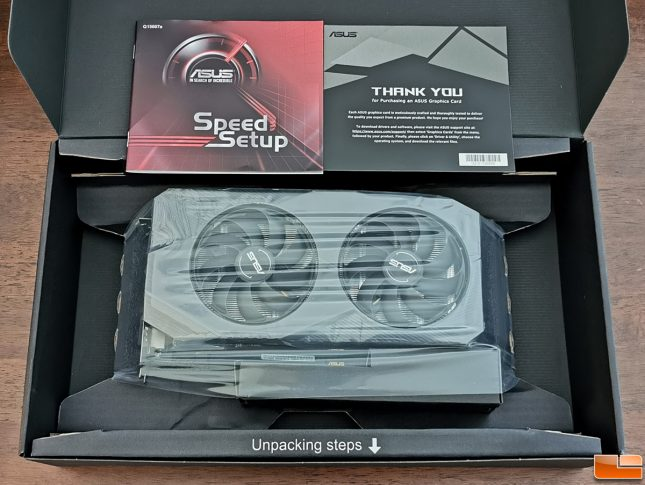 ASUS GeForce GTX 1660 SUPER DUAL Retail Packaging