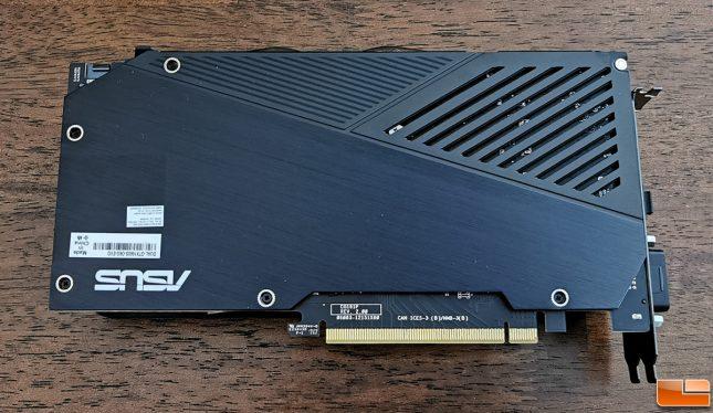 ASUS GeForce GTX 1660 SUPER DUAL Back
