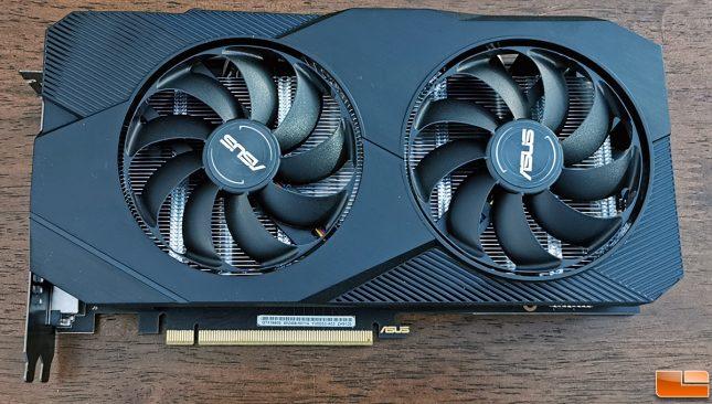 ASUS GeForce GTX 1660 SUPER DUAL Top