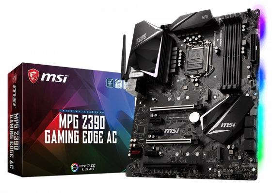MSI Z390 Gaming Edge AC Motherboard