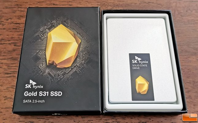 SK Hynix Gold S31 1TB SSD Retail Packaging