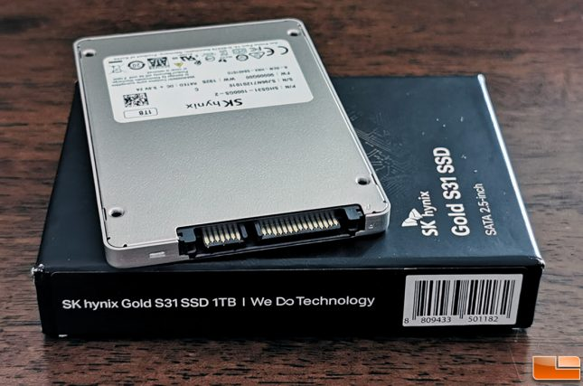 SK hynix Gold S31 2.5-inch SSD
