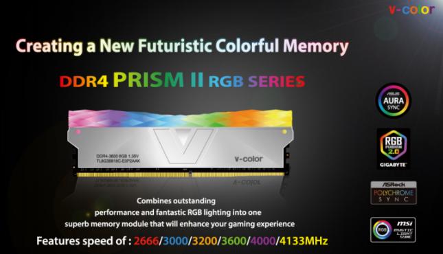 V-Color DDR4 PRISM II RGB Memory