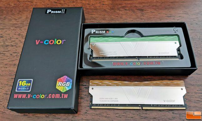 V-Color PRISM II DDR4-3600 RGB Memory Kit