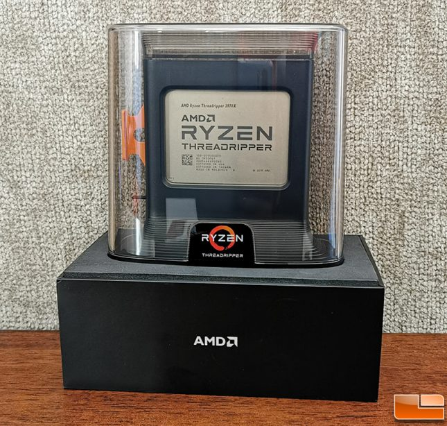 AMD Ryzen Threadripper 3970X Packaging