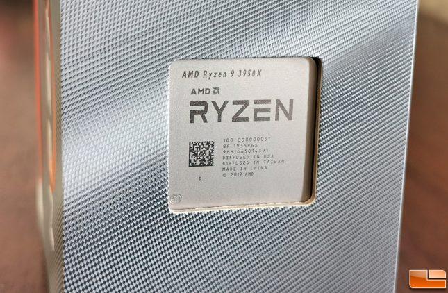 AMD Ryzen 9 3950X Retail Box Processor