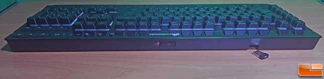 Corsair K57 RGB Wireless Gaming Keyboard Back