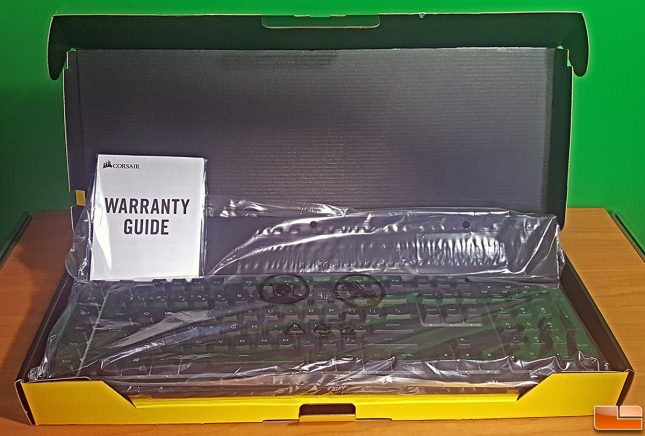 Corsair K57 Retail Packaging