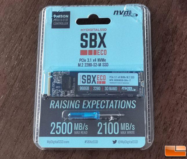 MyDigitalSSD SBXe 960GB SSD