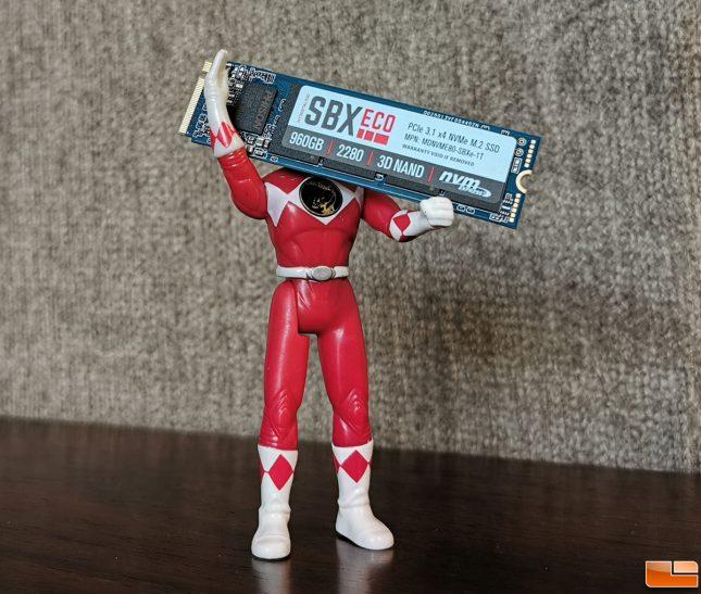 MyDigitalSSD SBXe 960GB SSD Power Ranger
