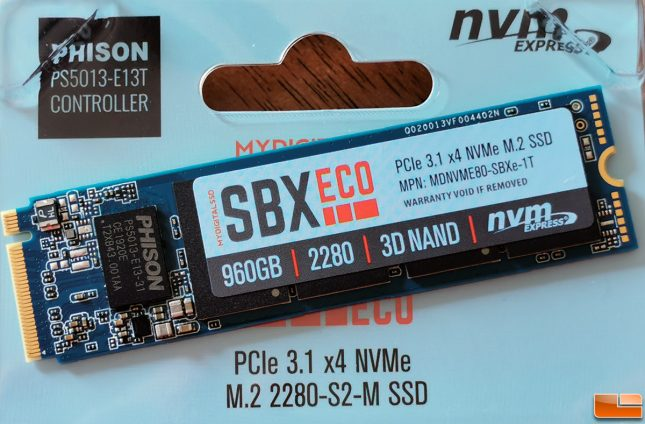 SBX Eco SSD