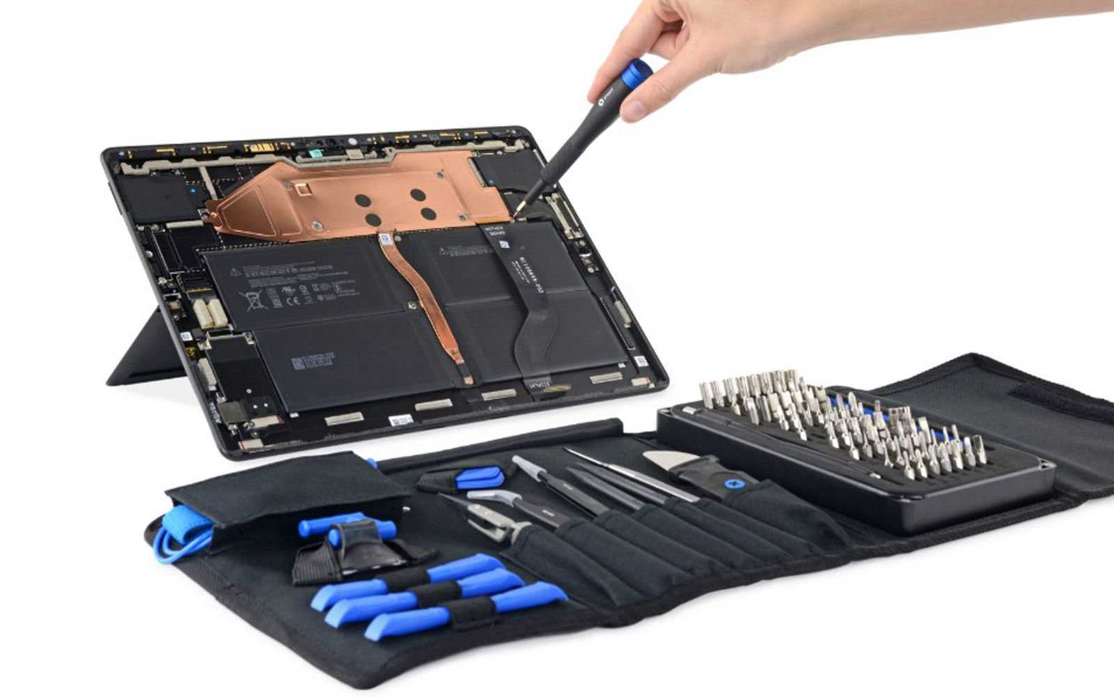 IFixit Teardown Shows Surface Pro X to be Very Repairable
