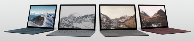 MS Surface Laptop 3 Models