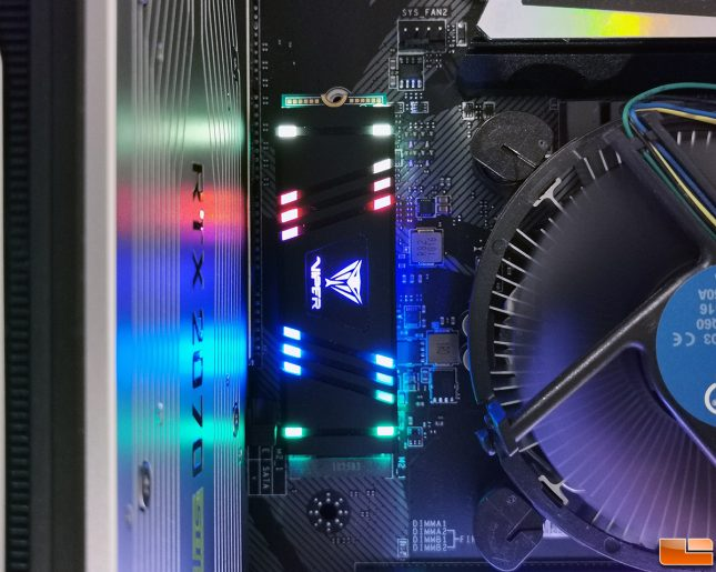 Patriot Viper VPR100 - M.2 SSD with RGB Lighting