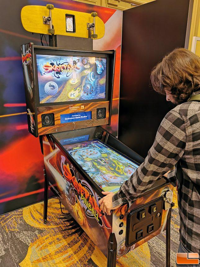 Snapdragon 865 Pinball Machine