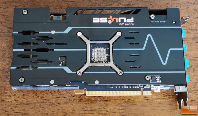 Sapphire Pulse Radeon RX 5500 XT Backplate