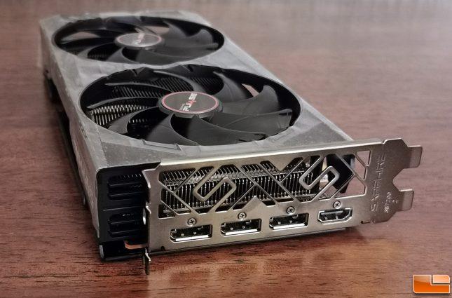 Sapphire Pulse Radeon RX 5500 XT Video Outputs