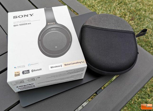 Sony WH-1000XM3 Retail Box