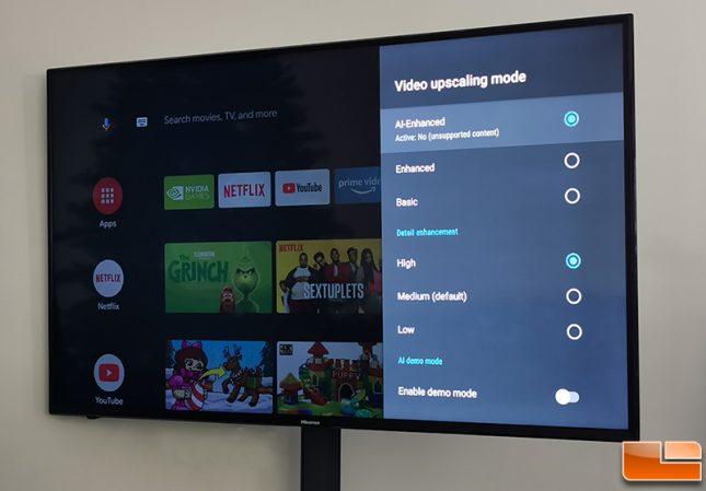 NVIDIA SHIELD TV AI Upscaling