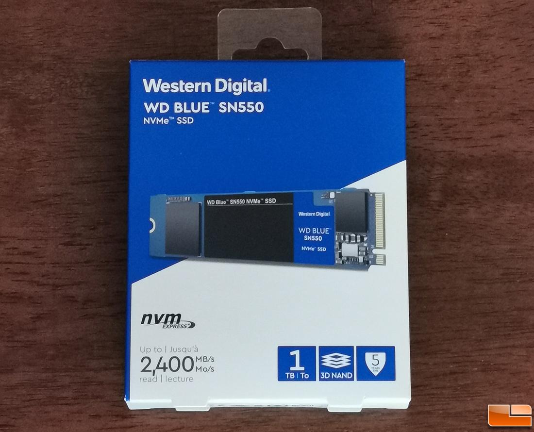 Sn550 wd nvme wds500g2b0c blue