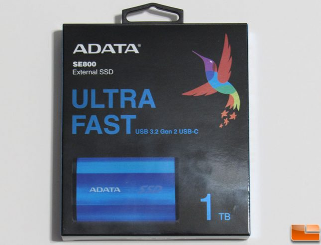 Adata SE800 Retail Box