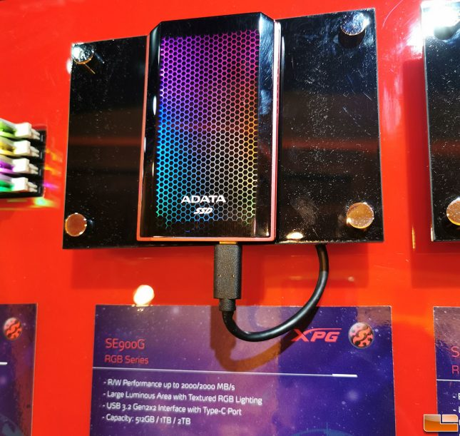 ADATA SE900G RGB Portable SSD