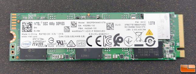 Intel SSD 665 1TB SSD