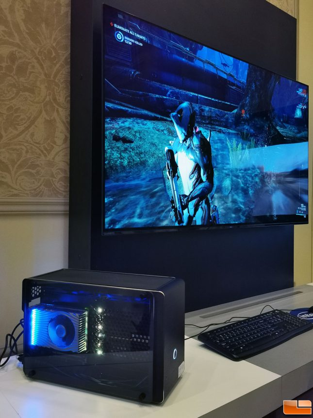 Intel DG1 running Warframe