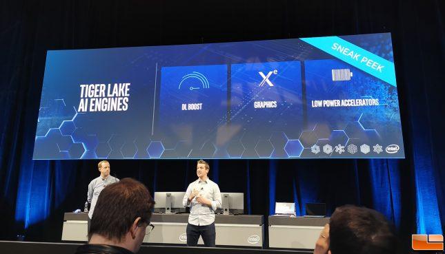 Intel Tiger Lake CPU AI Engine