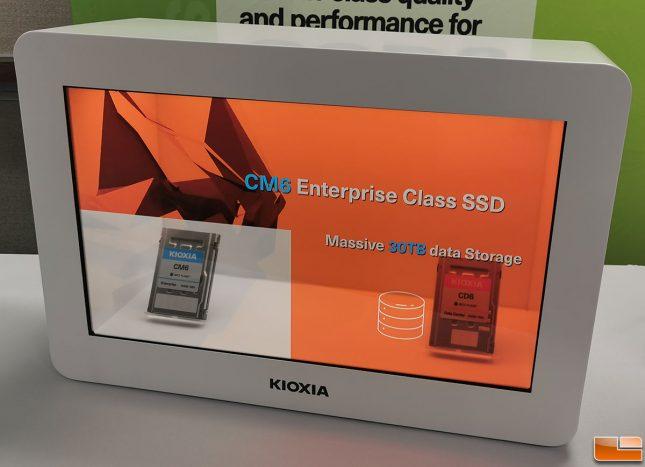 Kioxia CM6 Enterprise SSD