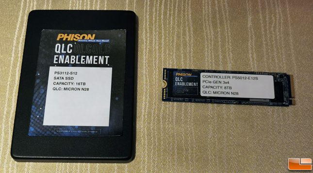 Phison QLC NAND Flash for CES 2020