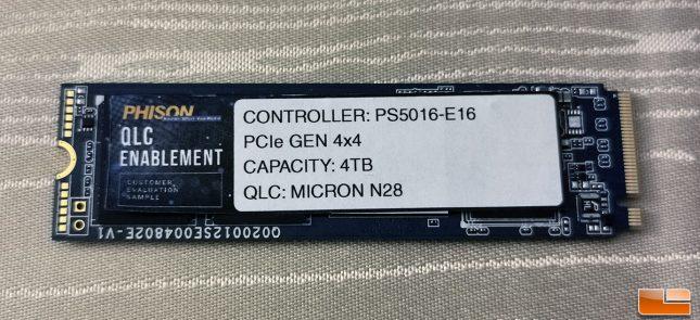 Phison PS5016-E16 4TB M.2 SSD