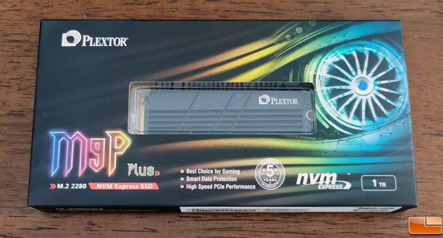 Plextor M9P Plus M.2 NVMe SSD