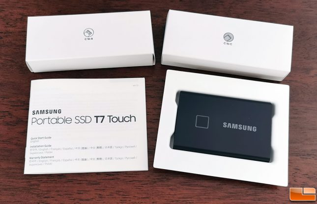 Samsung Portable SSD T7 Touch Accessories