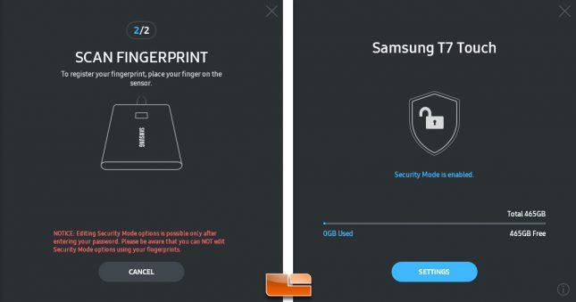 Samsung Portable SSD Software 1.0